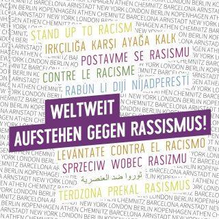 Weltweit Aufstehen gegen Rassismus