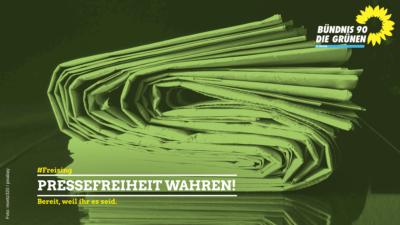 Pressefreiheit wahren!